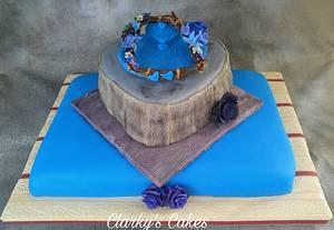 "Happy 75th 🎂 Birthday Elaine - Cake by June (""Clarky's Cakes"")"