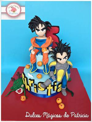 DRAGON BALL CAKE - Cake by Dulces Mágicos de Patricia