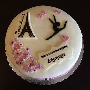 Paris...Ooh-la-la - Cake by My Sweet World_Elena