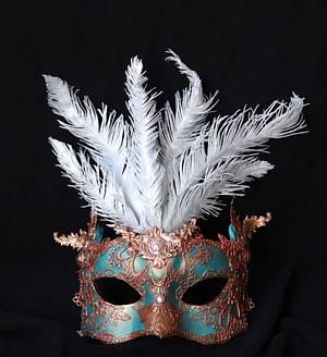 Venetian carnival mask - Cake by Veronica22