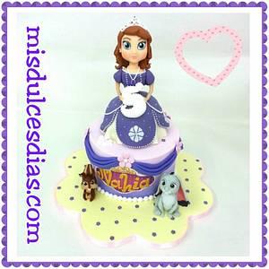 cake princess Sofía - Cake by ROCIO ( Mis dulces dias )