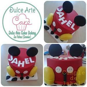 mickey cake - tarta mickey - Cake by Dulce Arte Cakes