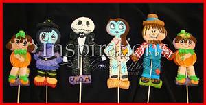 Halloween 2013 Marshmallow lollipops - Cake by Inspiration by Carmen Urbano