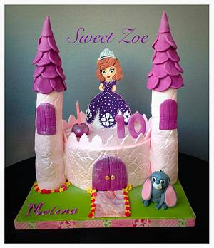 Princess Sofia Cake - Cake by Dimitra Mylona - Sweet Zoe Cakes
