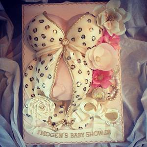 Baby Shower cake - Cake by Dee