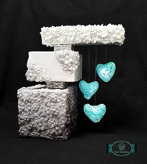 Love is...collaboration - Cake by Tirki