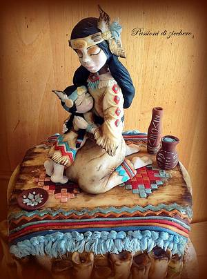 Indian mother - Cake by passioni di zucchero