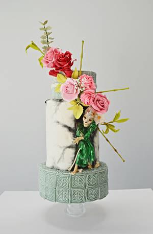 #sugaskulls Day of the Deaths Collaboration - Cake by Catalina Anghel azúcar'arte