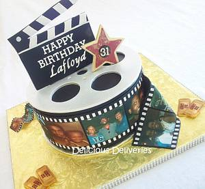 Hollywood Themed Cake - Cake by DeliciousDeliveries