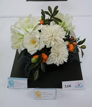 Bouquet - Cake by Anka