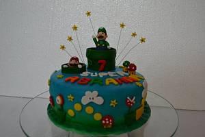 super mario boys cakes - Cake by Sheela