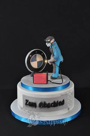 Plasma Cutter to farewell - Cake by Bappsiass