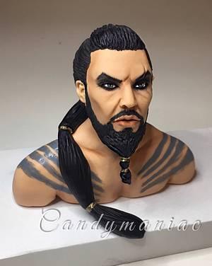 Khal Drogo - Cake by Mania M. - CandymaniaC
