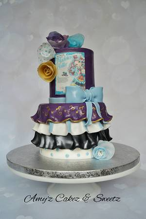 Happily Ever After High- Madeline Hatter - Cake by Amy'z Cakez & Sweetz
