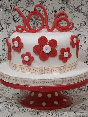 all you need is ...... - Cake by SueC