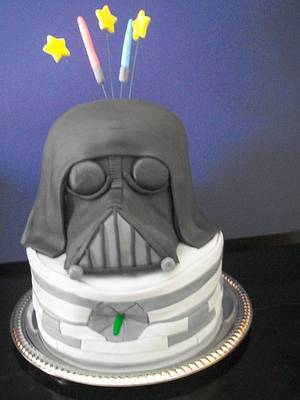 Darth Vader Cake - Cake by Heather
