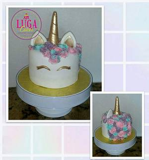Unicorn cake - Cake by Luga Cakes