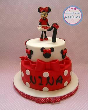 MINNIE CAKE - Cake by Dzesikine figurice i torte