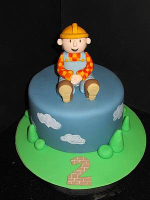 bob the builder  - Cake by d and k creative cakes