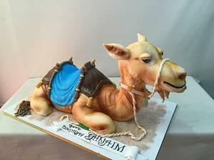 3D camel cake - Cake by House of Cakes Dubai
