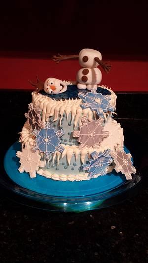 Frozen cake - Cake by Amber Rhofiry