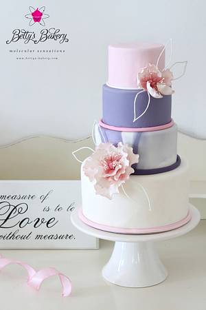 """""""The measure of Love..."""" - Cake by Betty's Bakery (molecular sensations)"""