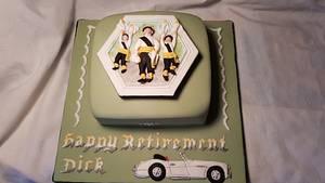 Morris Dancers Cake - Cake by Kell77