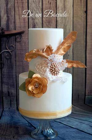 Headdress cake - Cake by Carmen