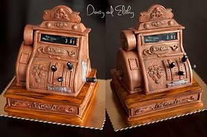 Old cash register - Cake by Eliska