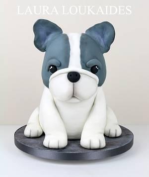 Beau The French Bulldog - Cake by Laura Loukaides