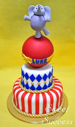Vintage Circus Cake - Cake by Sweet Success