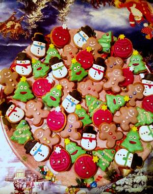 Christmas cookies - Cake by Gery