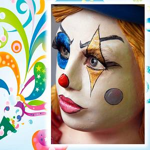 Magic Clown (Sweet World Carnival Collab) - Cake by Rosa Guerra (Tartas Oh by Rosa)