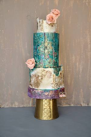 The Door to The Iron Orchid  - Cake by Sumaiya Omar - The Cake Duchess