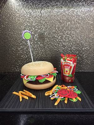 Sweet Burger - Cake by Lily Vanilly