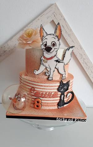Birthday Bolt and friends - Cake by Kaliss