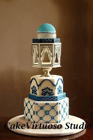 Turkish delight - Cake by Natasha Ananyeva (CakeVirtuoso Studio)