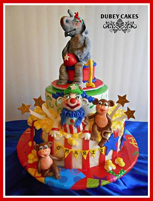 Day at the Circus  - Cake by Bethann Dubey