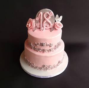 18th Birthday - Cake by Dragana