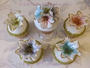 Rainbow Gardenia - Cake by Carina bentley