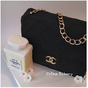 CHANEL BAG CAKE ❤️👜 - Cake by Prime Bakery