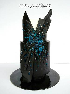 Couture Cakers Collaboration - Black Beauty - Cake by Michelle Chan