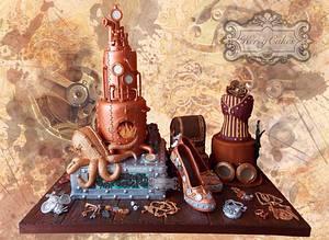 GOLD 1st award winner - Cake by kerrycakesnewcastle