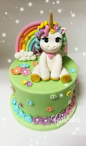 Unicornio - Cake by Carcakes