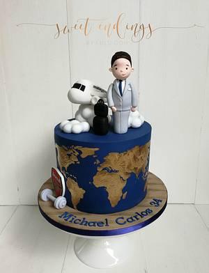 Cabin Crew Cake - Cake by Lulu Goh