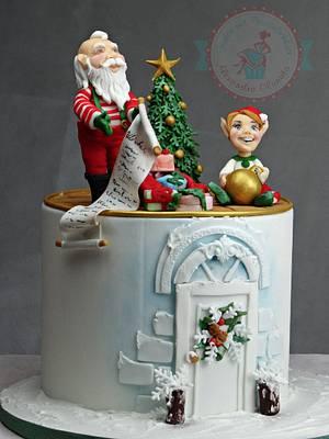 Santa Claus  - Cake by Olanuta Alexandra