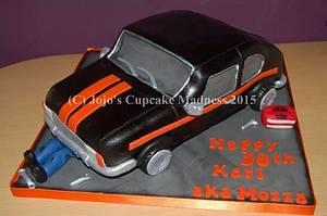 Car cake - Cake by JojosCupcakeMadness