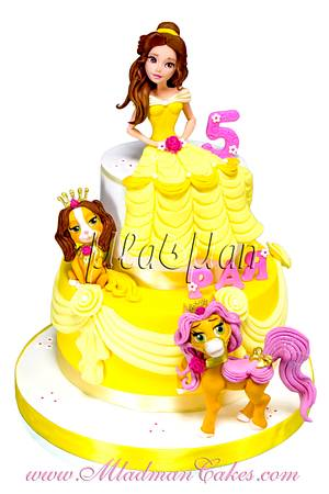 Beauty and Friends Cake - Cake by MLADMAN