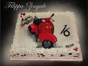 Vespa cake - Cake by filippa zingale