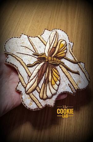 Stitches and Patchwork.... on a cookie! - Cake by The Cookie Lab  by Marta Torres